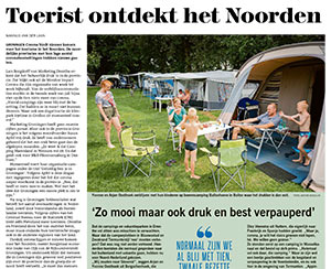 artikel in Dagblad van het Noorden